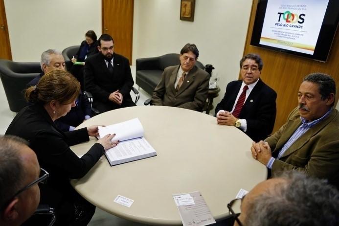 Reunião da Fundação São João com Secretária do Trabalho, Justiça e Direitos Sociais