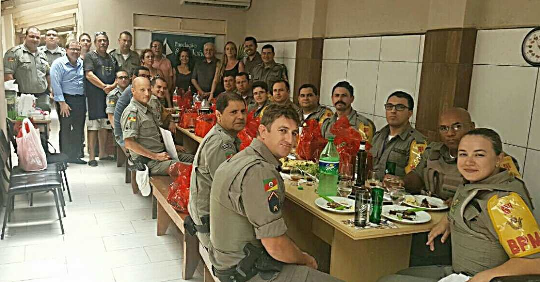 HOMENAGEM AO 9º BATALHÃO DA BRIGADA MILITAR E COMANDO DE POLICIAMENTO DA CAPITAL