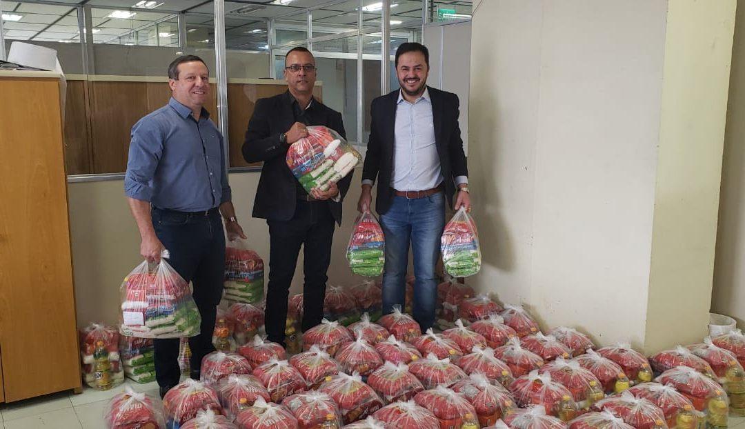 Mais de 70 famílias vulneráveis são beneficiadas com cestas básicas doadas ao Estado